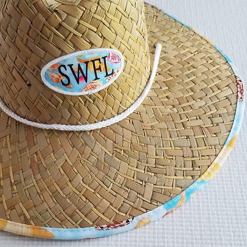 Lifeguard Hat - Seashells of SWFL