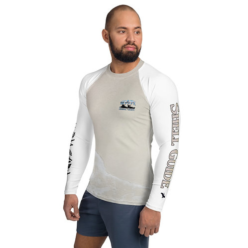Men's Rash Guard - Sand Body - SWFL Shell Guide Kayakers