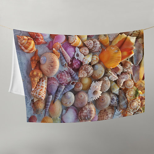 Throw Blanket - SWFL Shell Pile No 1