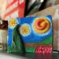 Clay & Impasto à la Van Gogh landscape masterpiece
