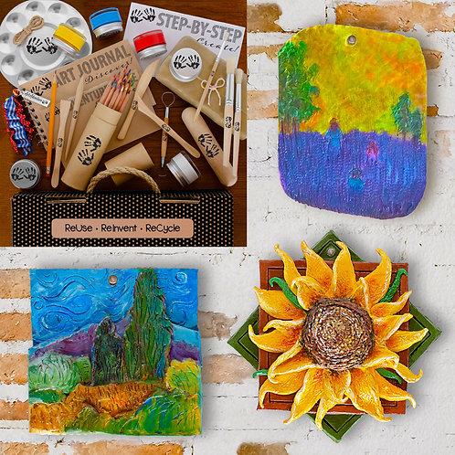 Clay & Impasto à la Van Gogh