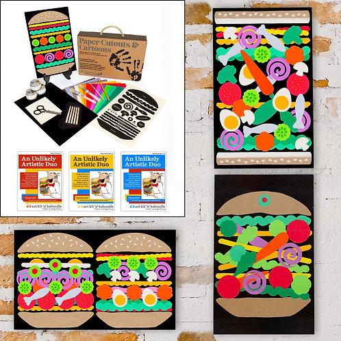 Paper Cutouts & Cartoons