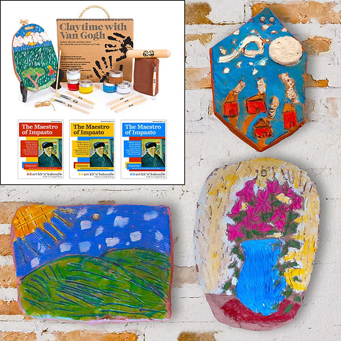 Claytime with Van Gogh