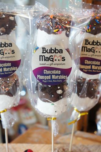 Chocolate Plunged Marshies