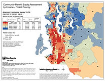 King County - Forest Canopy by Income