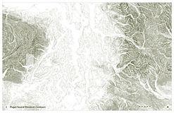 Puget Sound Contour Lines
