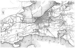 Seattle 1897 - Detail