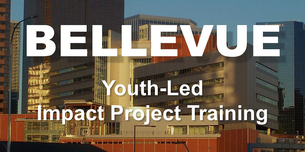 BELLEVUE - Youth-Led Impact Project Training