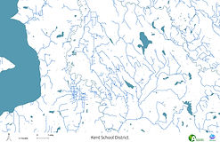 Kent School District - Streams, Rivers and Lakes