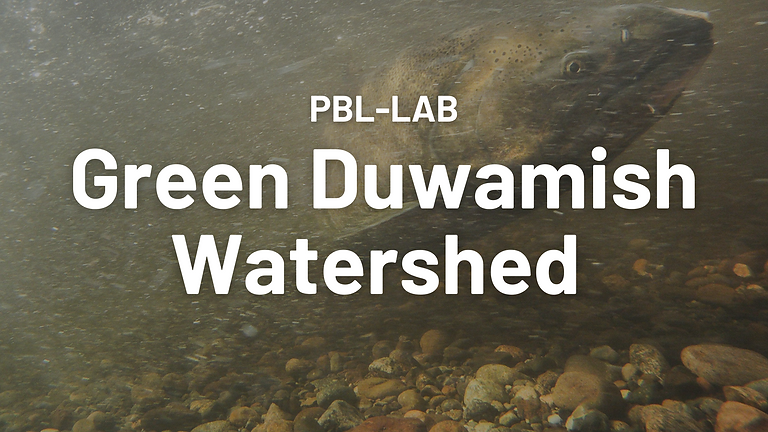 GREEN DUWAMISH WATERSHED [PBL-LAB + 2050 Workout]