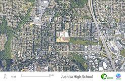 Juanita High School - Satellite