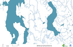 Bellevue School District - Streams, Rivers and Lakes