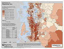 King County - Distribution of Playgrounds by Income