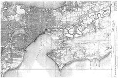 Seattle 1909 - Detail