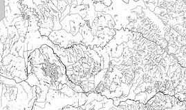 Enumclaw School District - Streams, Rivers, and Lakes (Black and White)