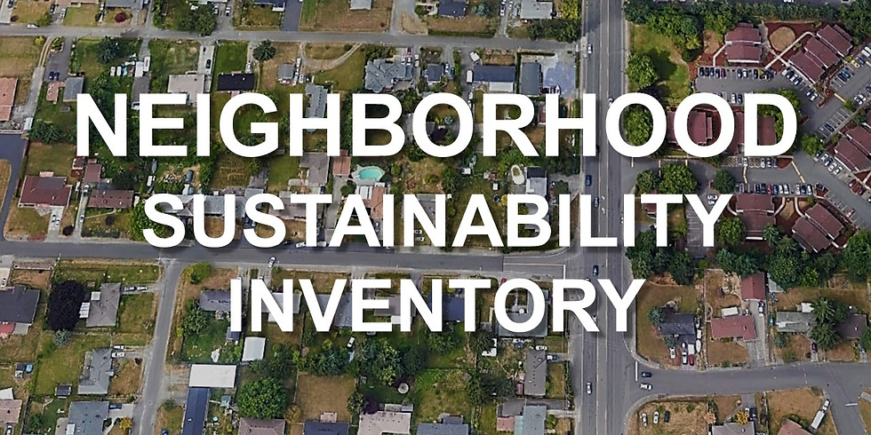 Neighborhood Sustainability Inventory