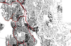 Lake Washington School District - Impervious and Sewer Lines