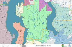 Bellevue School District - Cities and Streams