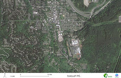Issaquah HS and MS - Satellite