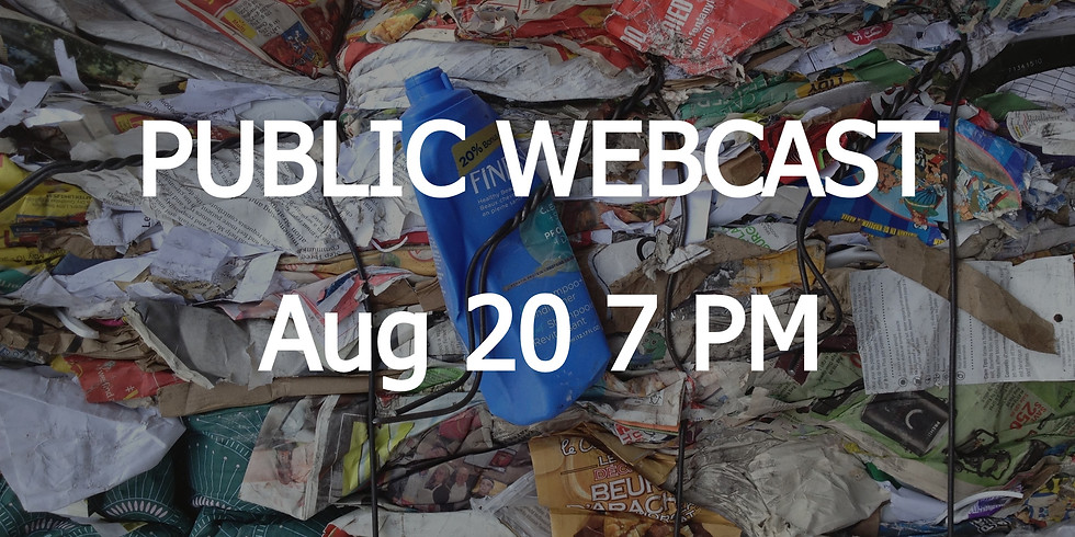LIVE WEBCAST: 2050 Workout | Zero Waste & Circular Economy | Aug 20