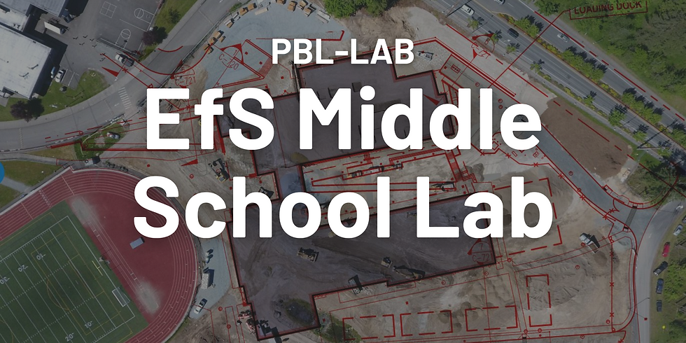 EfS Middle School Lab: Educating for Sustainability Across the Middle School Curriculum
