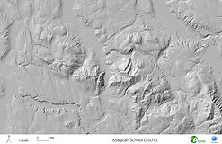 Issaquah School District - Hillshade