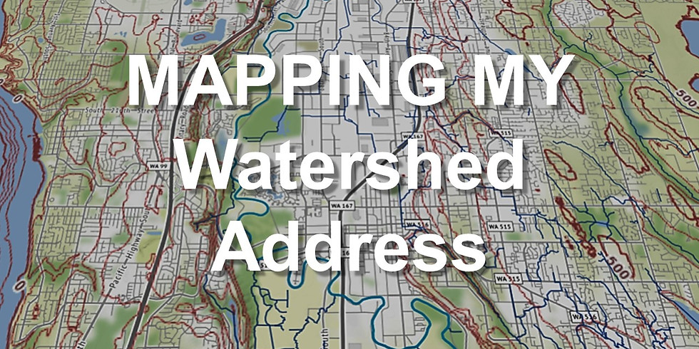 Mapping My Watershed Address