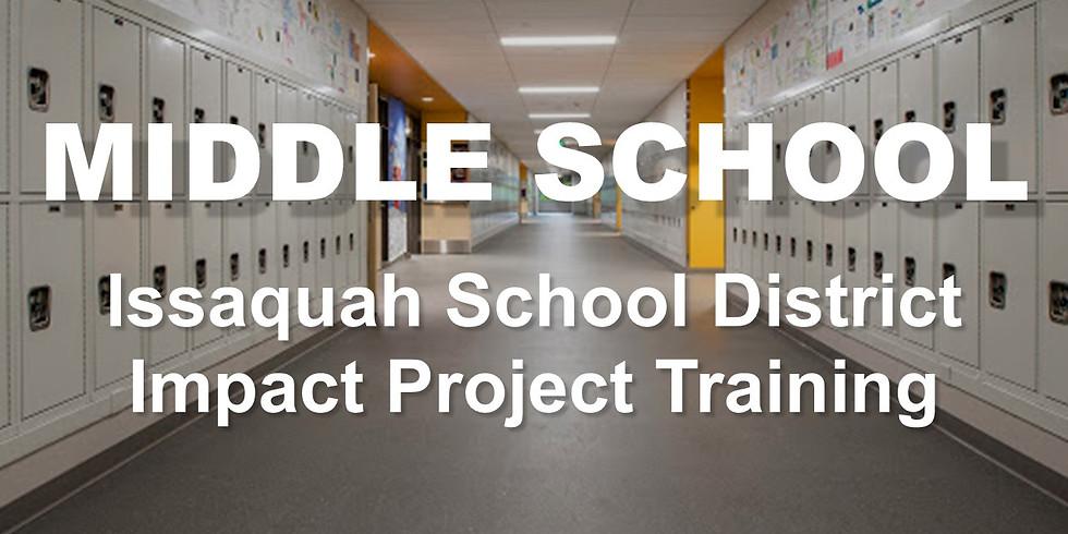 ISSAQUAH - Youth-Led Impact Project Training