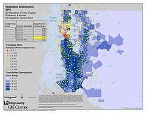 King County - Vegetation Distribution 2010