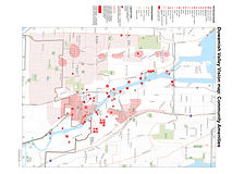 Duwamish Valley Vision Map - Community Amenities