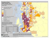 King County - Proximity to Public Health Facilities