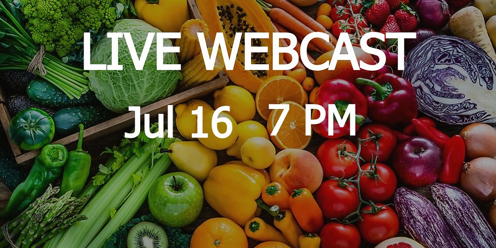 LIVE WEBCAST: 2050 Workout | Food Systems | Jul 16
