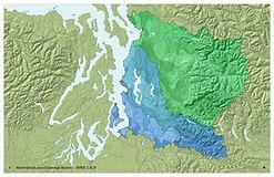 Puget Sound Watersheds - WRIA 7, 8, 9