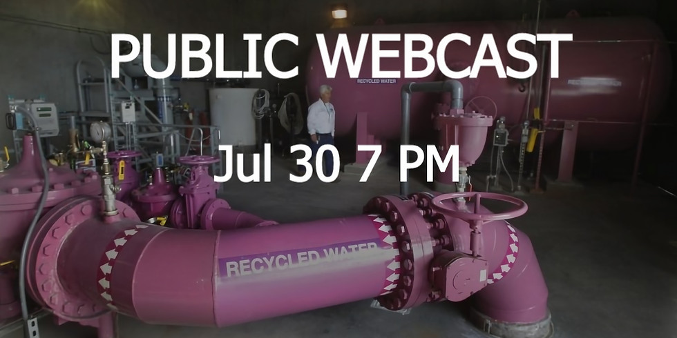 LIVE WEBCAST: 2050 Workout   Water Quality Challenges   Jul 30