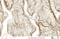 Lake Washington School District - Contours