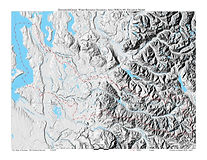 Green Duwamish Watershed - Topography