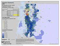 King County - Vegetation Distribution 2000
