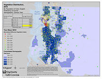 King County - Vegetation Distribution 2000