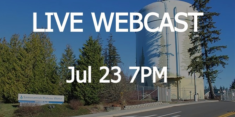 LIVE WEBCAST: 2050 Workout | Water Supply Systems | Jul 23