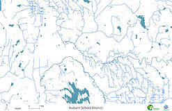 Auburn School District - Streams, Rivers and Lakes