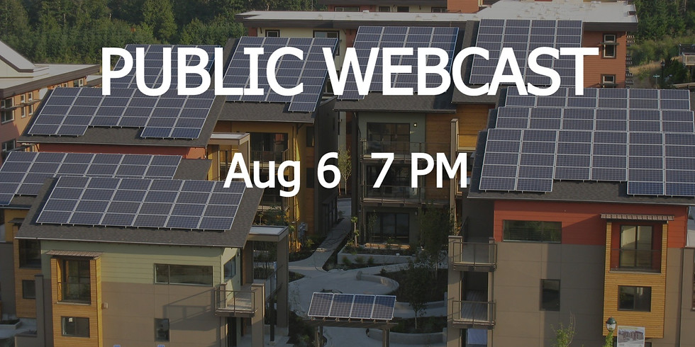 LIVE WEBCAST: 2050 Workout | Energy and Green Building | Aug 6