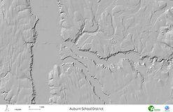 Auburn School District - Hillshade