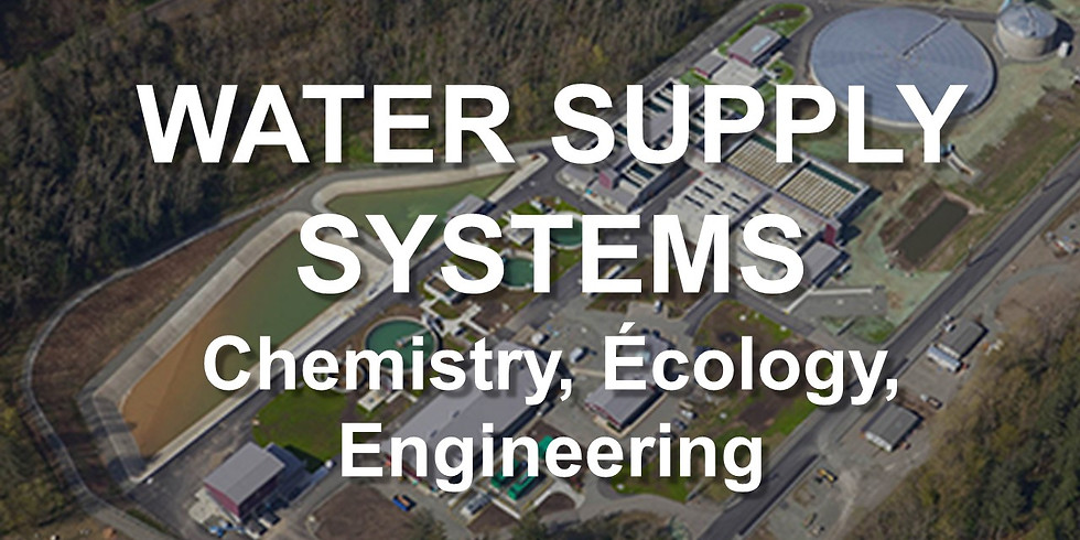 Water Supply Systems Chemistry-Ecology-Engineering