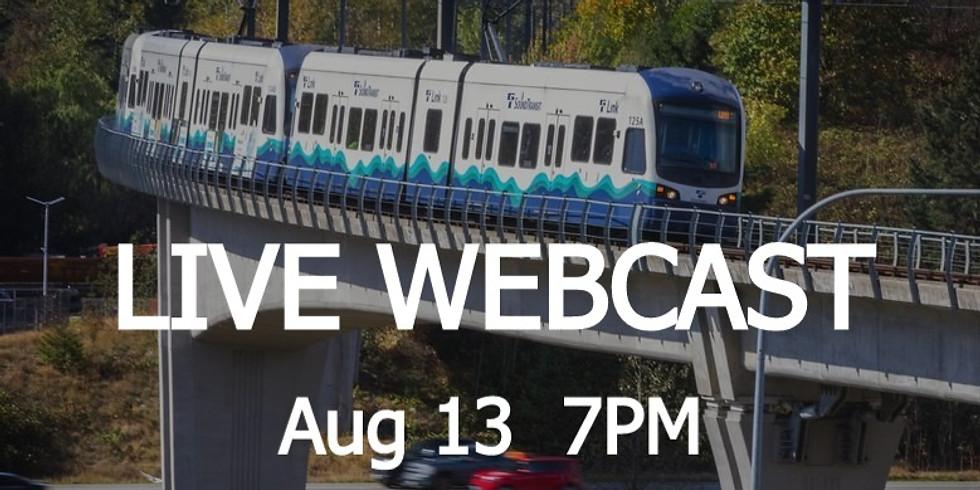 LIVE WEBCAST: 2050 Workout | Transportation Systems | Aug 13