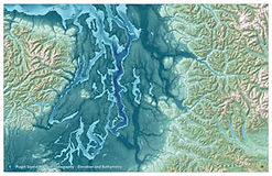 Puget Sound Topography