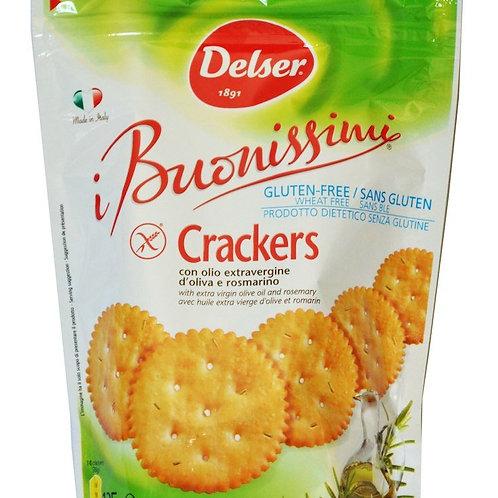 Crackers Buonissimi Gluten Free Delser