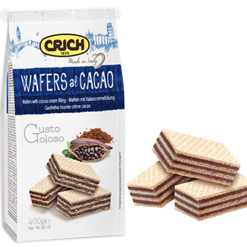 Crich Wafers al Cacao