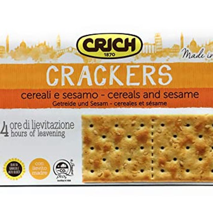 Crich Crackers Cereali e Sesamo