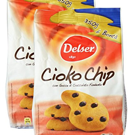 Delser Cioko Chip Cookies , 12.34 oz