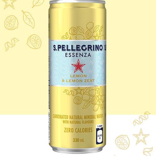 San Pellegrino Essenze Lemon and Lemon Zest